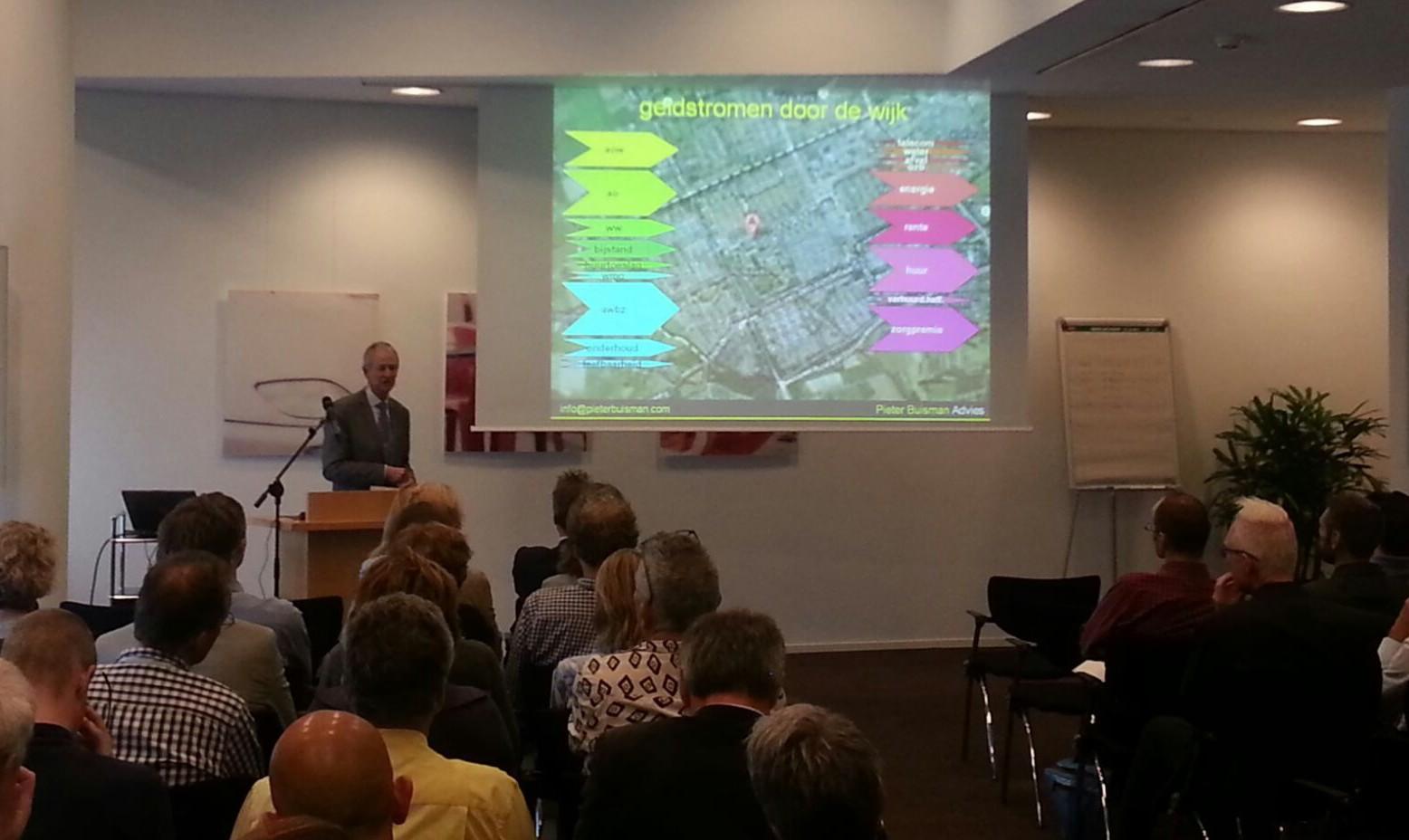 Haagse lobby over geldstromen door de wijk - in en uit