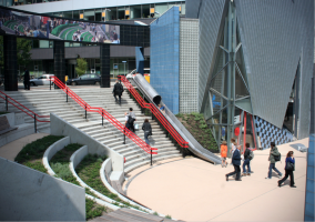 Station Overvecht glijbaan