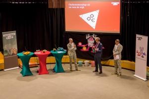 Pieter Buisman en Nathan Rozema in gesprek met Paulus Jansen