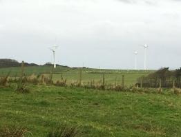 Gigha, windmolens