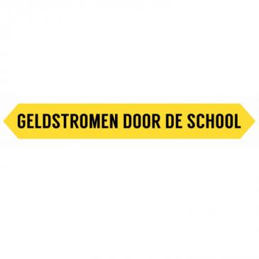 Geldstromen door de School - logo